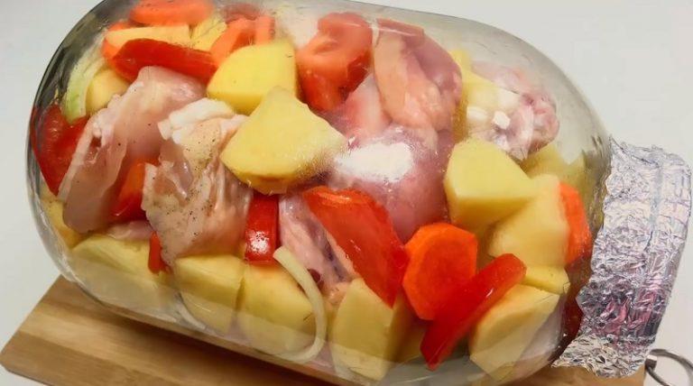 Особенная курица в банке, которую я просто обожаю – получается очень вкусно