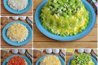 Рецепт подслушала в маршрутке. Потрясающе простой и вкусный салат «Изумрудная россыпь».