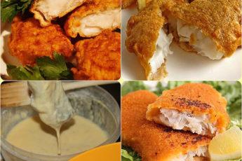 Воздушный кляр для рыбы 6 рецептов