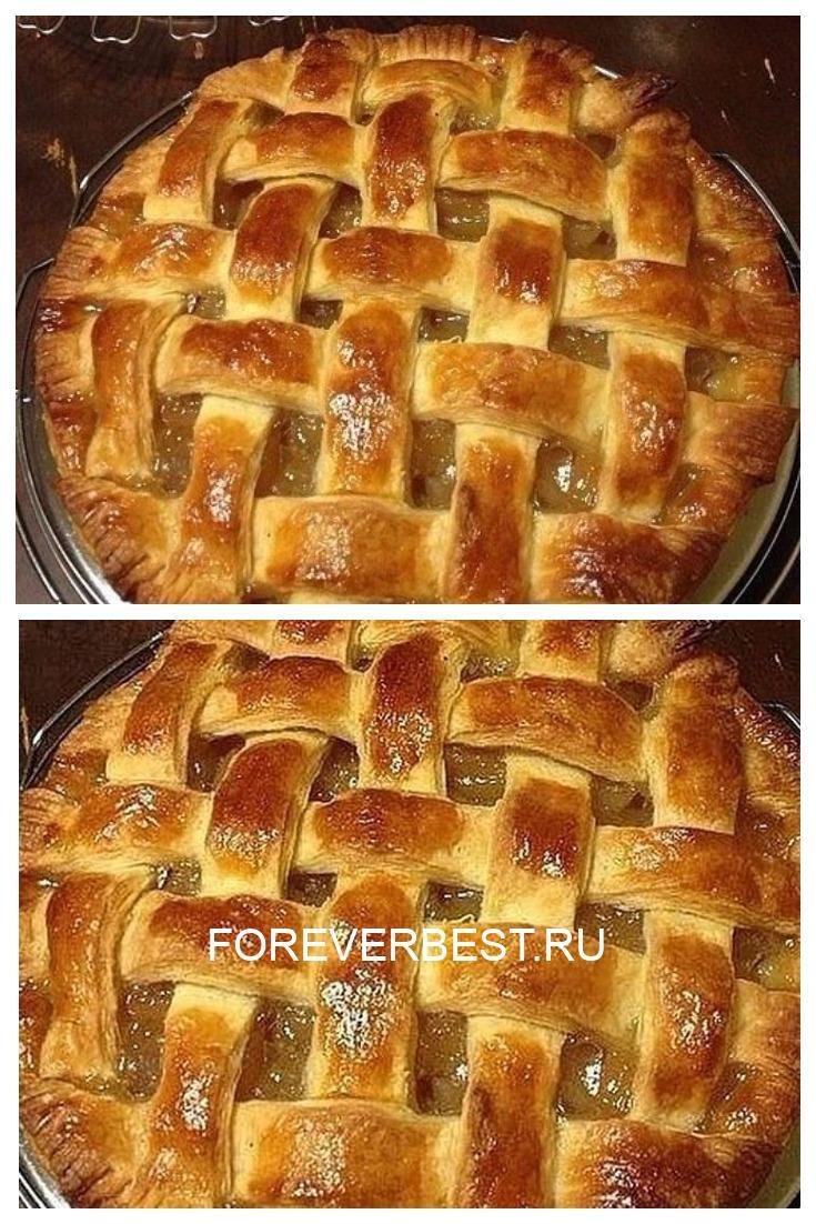 """Рецепт вкуснейшего пирога """"Корзинка с персиками"""" домашнего приготовления"""