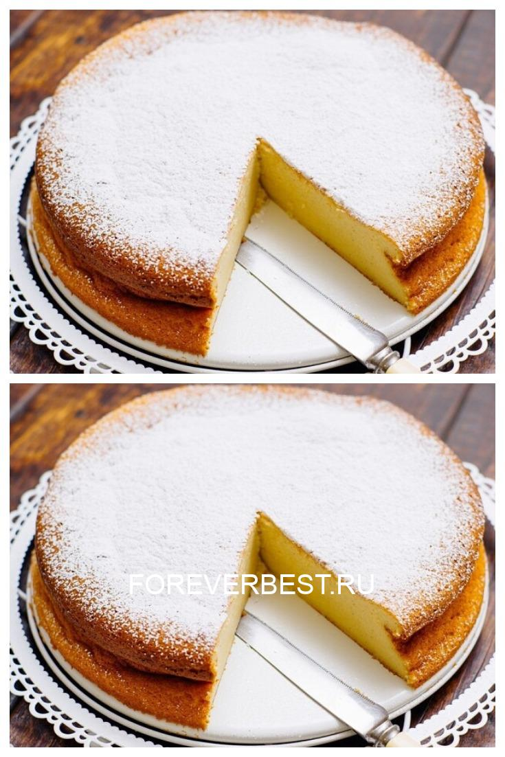 Рецепт вкусного ленивого пирога на скорую руку