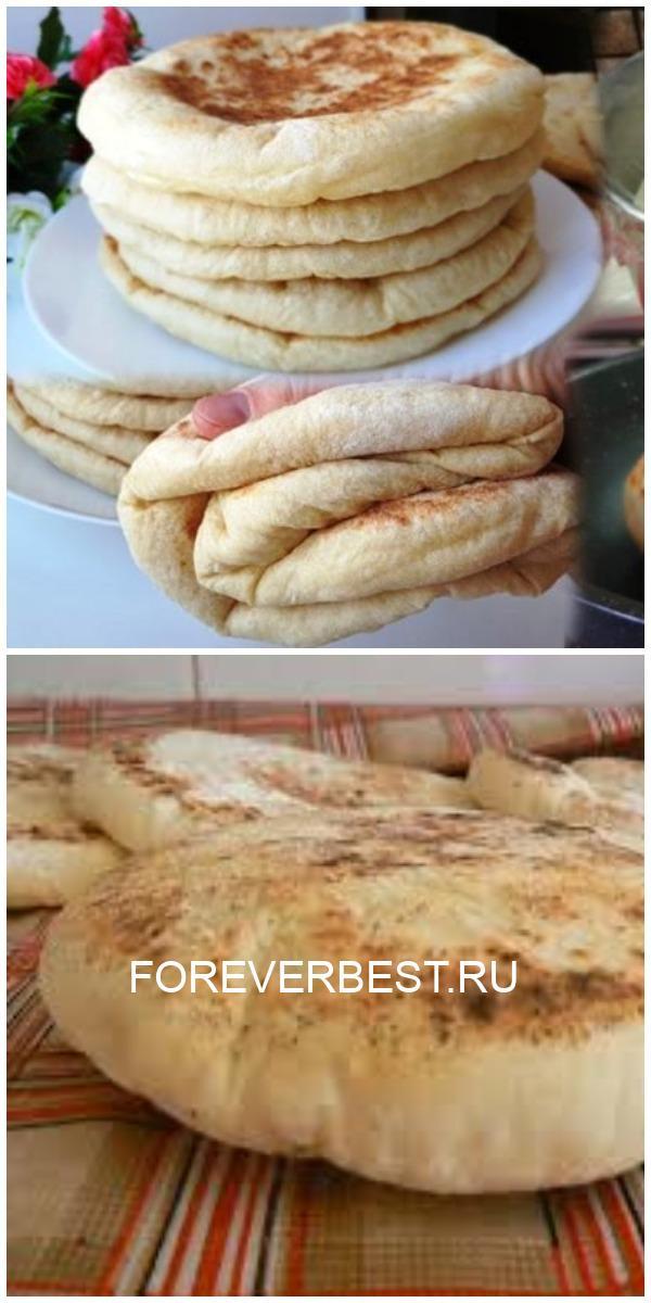 Мягкие и воздушные – просто Фантастика! Базлама – лепешки, вместо хлеба