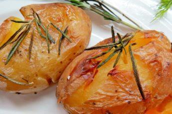 Картофель запеченный по-португальски