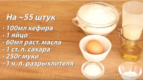 Очень простой и вкусный рецепт печенья на кефире за 20 минут 5